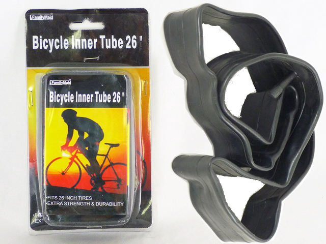 "BICYCLE INNER TUBE 26"", #32025"