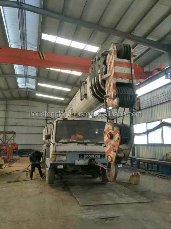 Used 100 ton zoomlion truck crane