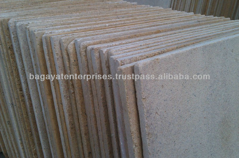 Tumbled Sandstone Paving Slabs Ita Gold