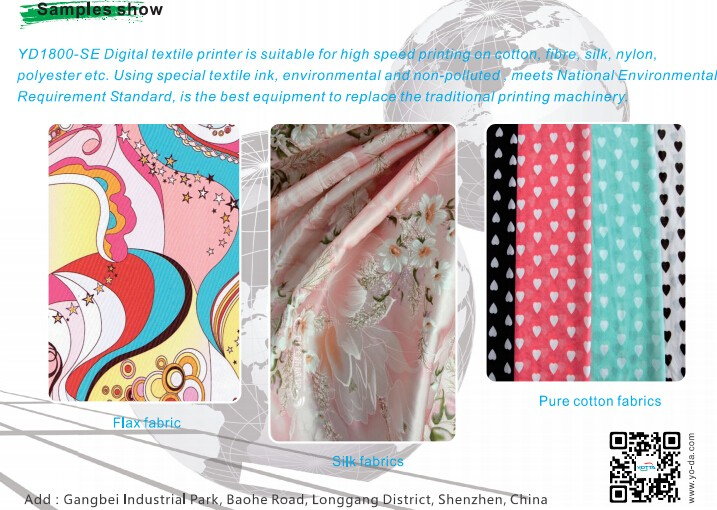 Digital Textile bedsheets bedspreads Printer/ Fabric Printing Machine