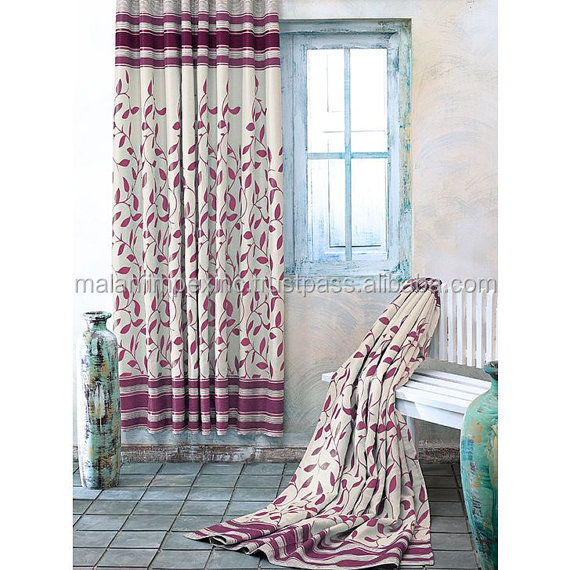 New Fancy Decorative Window Door Curtain Manufacturers from India