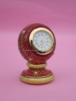 Indian Marble Piller Watch Clock Handicraft Gift Decor Painting Handmade Jaipur Rajasthan new Year gift