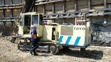 [ Winwin Used Machinery ] Used drilling rig TOYO TCD1218 1997yr FOR SALE