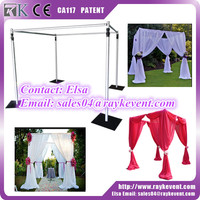 High quality used pipe and drape for sale backdrop pipe and drape for wedding