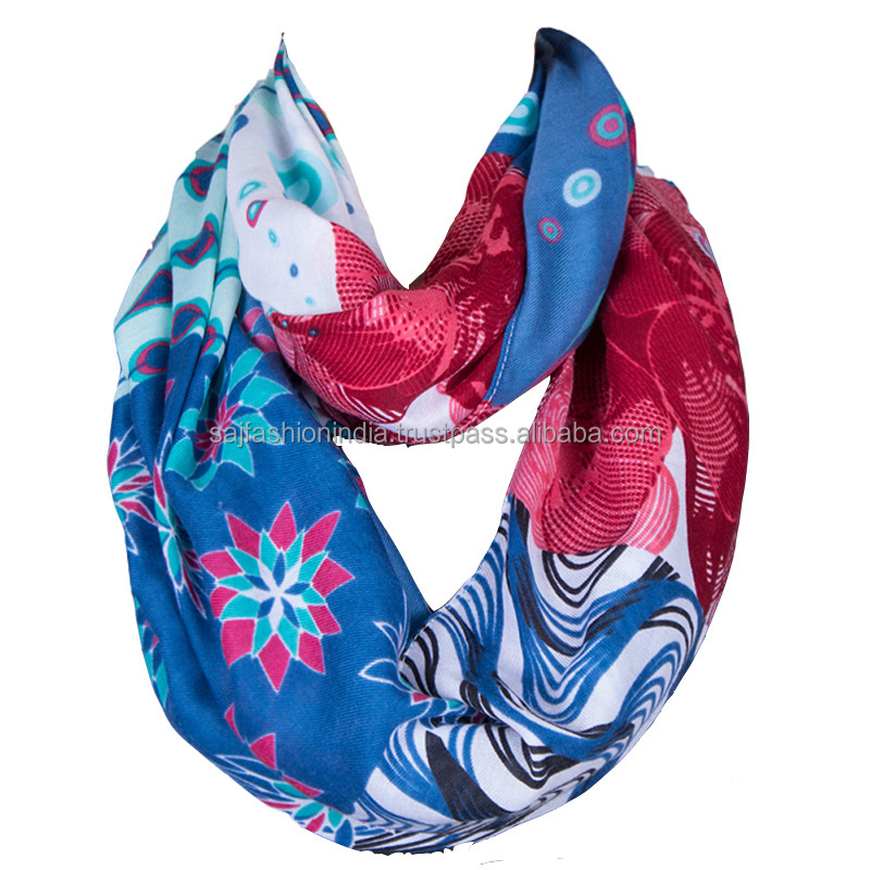 wholesale embroidery lace scarf lady floral scarf 2017