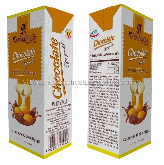 Eggyolk Milk Drink With Chocolate - Viber/Whatsapp: 0084905209103