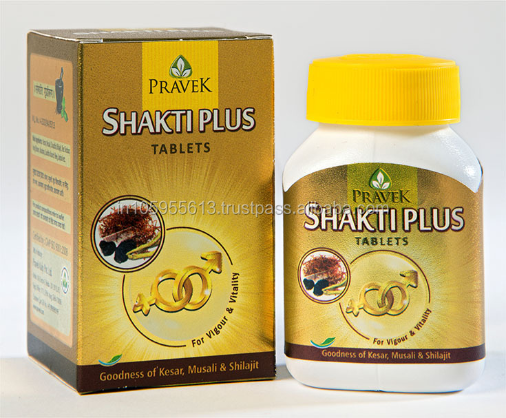 SHAKTI PLUS (100% Natural ayurvedic formulation which restores vigour & vitality for a better healthy life)