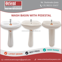 Durable Quality New Model Wash Basin with Pedestal for sale