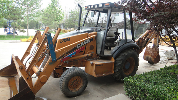 Used Case 580M Series 2 Backhoe Loader made in USA