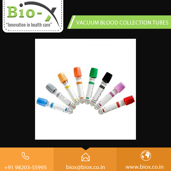 Disposable Grade Vacuum Blood Collection Tube for Daily Hospital Use