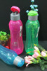 Colorful BPA FREE water tumblers with lid/ travel plastic 1000ml colorful tumbler. MIN ORDER 96 PCS ONLY !