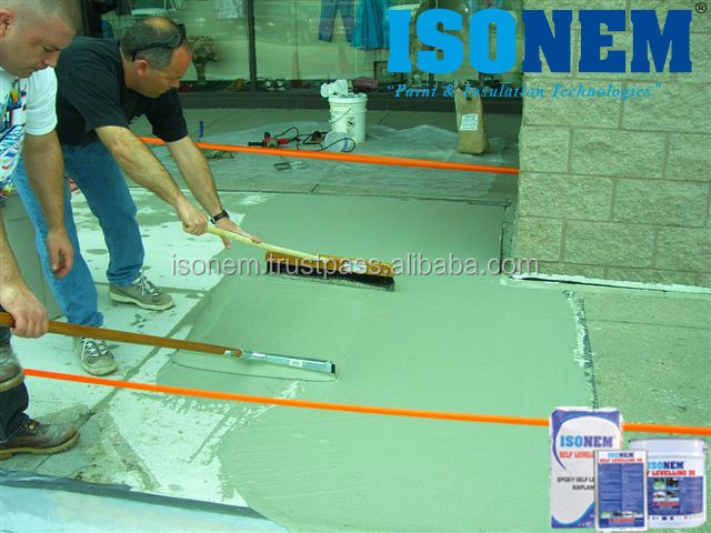 EPOXY BASED SELF LEVELLING ATTRACTIVE FLOOR PAINT AND COATING FOR INDUSTRIAL AREAS, WAREHOUSES, GARAGES, HOSPITALS