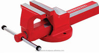 ALL FORGED STEEL BENCH VICE / VISE HEAVY DUTY WITH FIXED BASE