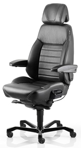 executive orthopedic aircomfort office chair