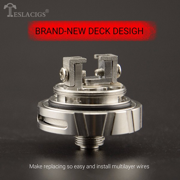 Newest Teslacigs Carrate 24 RTA with Leak proof design