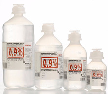 Medical Grade Sterile Saline Solution, Sodium Chloride 0.9%, Nacl 0.9%
