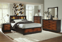 New Indian style Bedroom Wooden Style Rolwing Storage Panel Double Bed.Excellent design and good storage latest king bed .