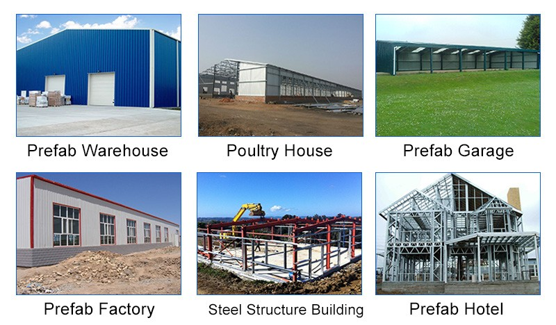 EPS Sandwich Panel prefabricated steel structure building