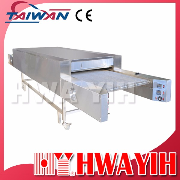 HY-529-4 Electric Infra-red Conveyor Pizza Jerky Oven, Taiwan