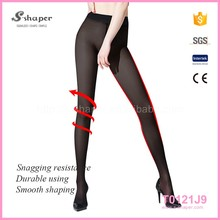 Ladies Thin 15D Short Stockings With Cotton Crotch