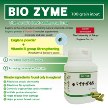 Functional BIO ZYME euglena supplement for women health made in Japan