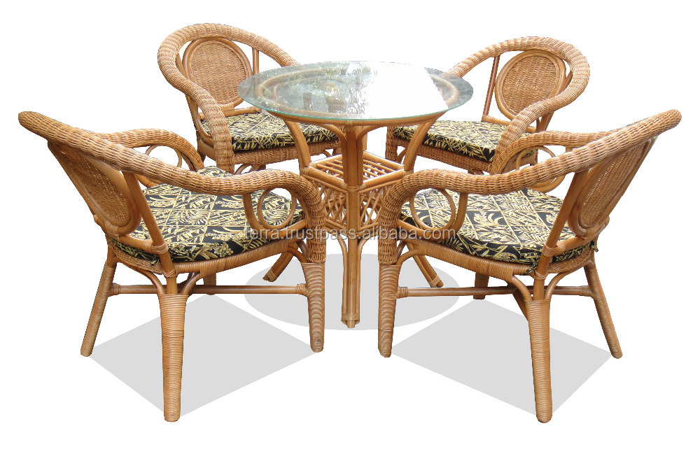 Rattan Wicker Set
