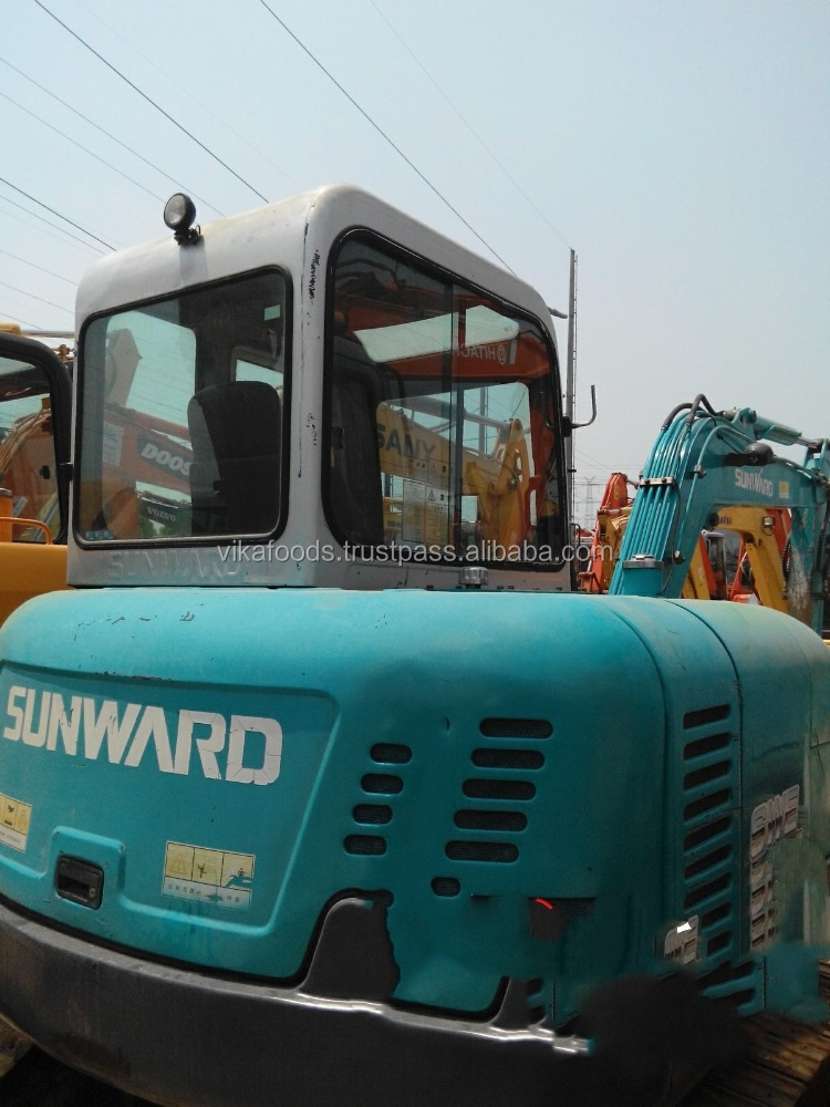 Used Sunward swe60 excavator with good condition and lower price