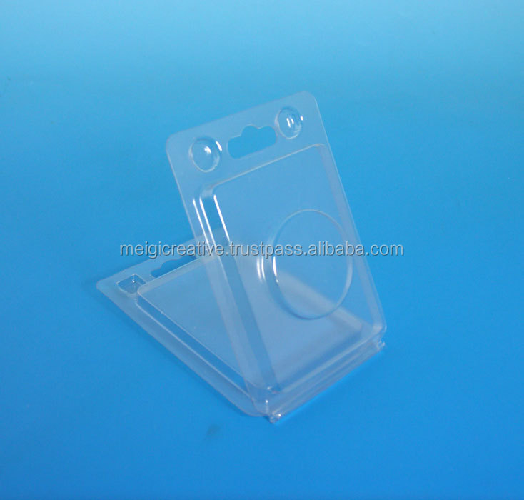 Retail clamshell Packaging, Clear Clamshell with Key Hole