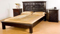 Indian Industrial wooden Bed Furniture
