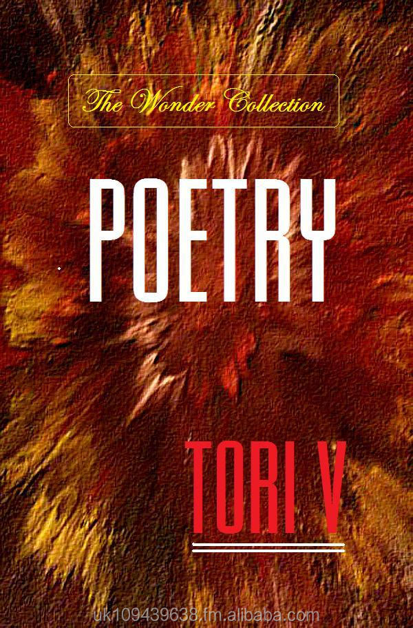 POETRY - The Wonder Collection - 1st Edition - Author Tori V