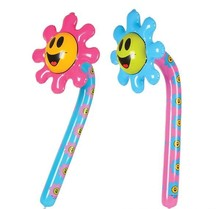 "36"" SMILELY FACE FLOWER INFLATE"