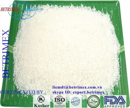 HIGH FAT DESICCATED COCONUT PRICE - MEDIUM, CHIPS -THREAD - GRADE - CHIP HIGH QUALITY - VIET NAM ORIGIN