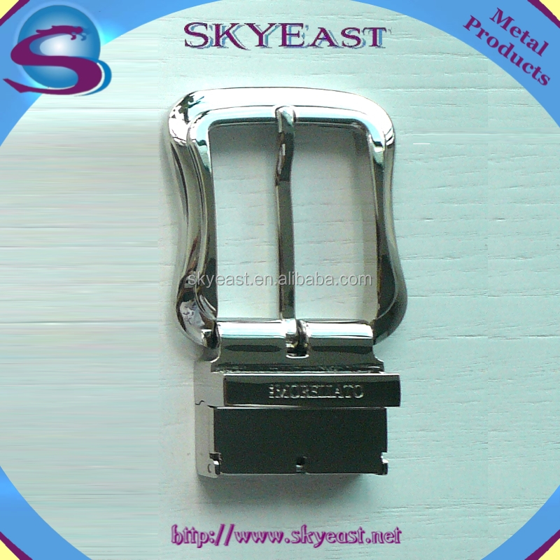 High Quality Shiny Metal Adjustable Belt Buckles For Leather Belts