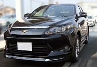 Reliable toyota harrier japan used car for irrefrangible accept orders from one car
