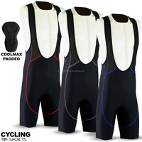 Mens Cycling Bib Shorts Coolmax Padding Cycle Tight Shorts Mens Bike Tights