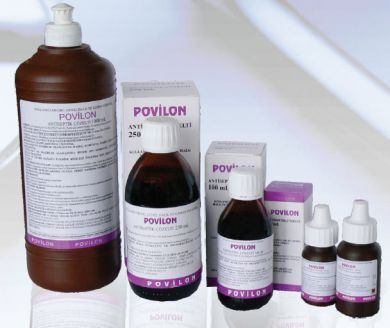 Antiseptic Solution, %10 povidone iodine, 1000 ml