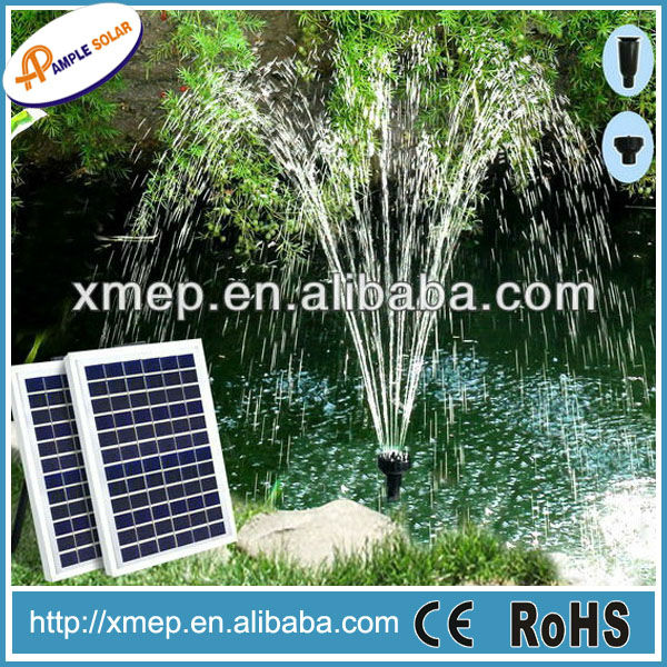 1600LPH Wholesale Solar Water Fountain Pump for Pond
