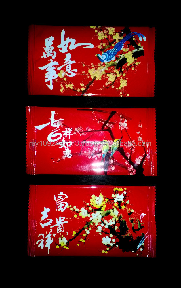 De Fresh CNY 2015 Individual Pack Wet Wipe/ Towel/ Tissue