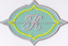 2 by 3 Personalized Custom Patch Monogram