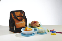Silicone Foldable Lunch Box/Silicone Folding Lunch Box/Silicone Collapsible Lunch Box