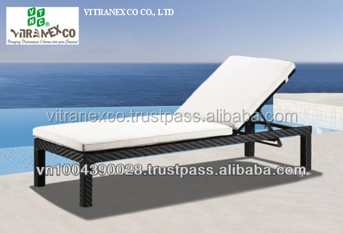 poly rattan furniture, rattan lounge