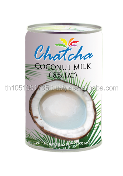 Coconut milk 8% fat