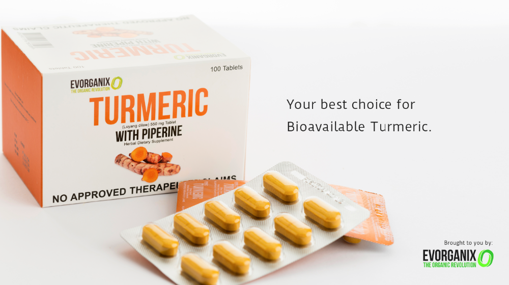 Turmeric with Piperine Herbal Dietary Supplement