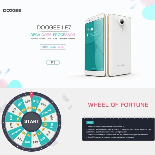 DOOGEE F7 32GB, Network: 4G