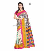 Gujarati sarees blouses design | 100 pure silk saree