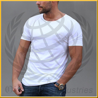 100% cotton custom design logo create your own style wholesale scoop neck t shirt