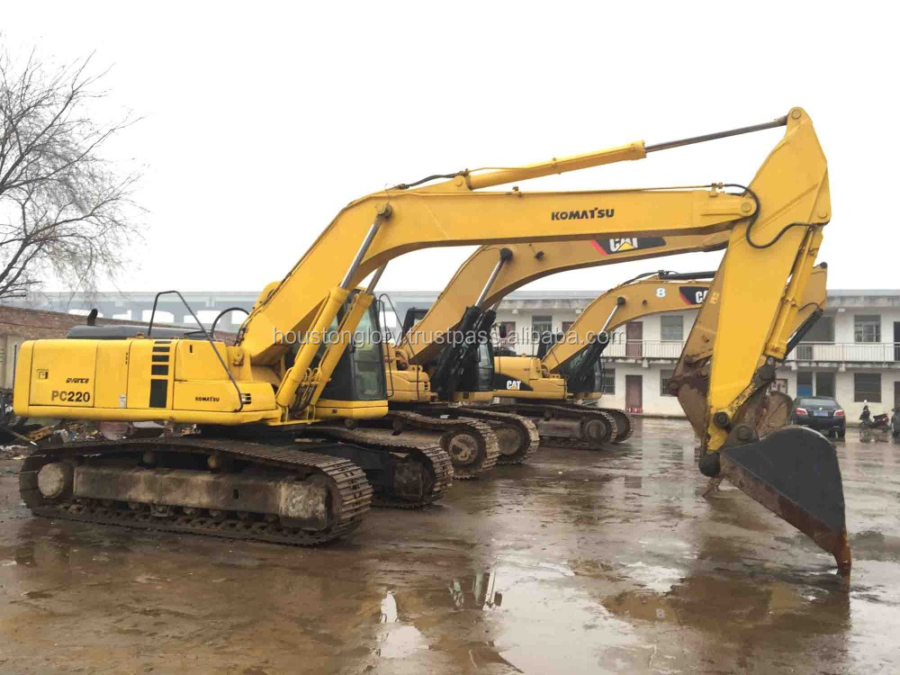 Japanese used excavator for sale PC220-6, PC200-6,PC200-7,PC220-7,PC220-8