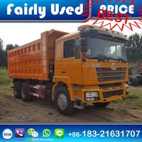 Used China Trucks Shacman F3000 Dump Tipper Truck for sale