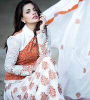 Amna Ismail Designer Semi Unstitch Chiffon Suits