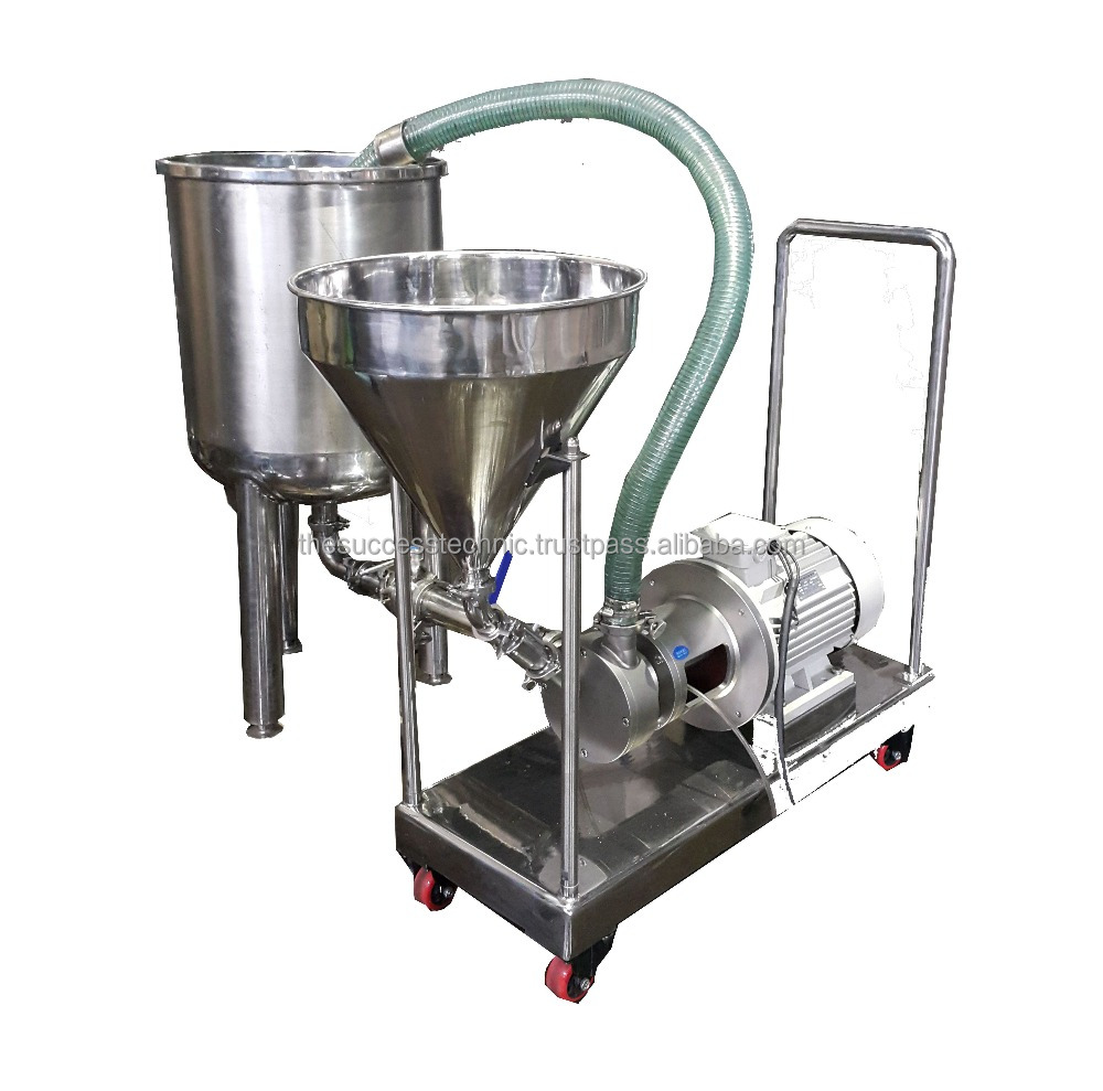 4kW/5hp Inline homogenizer / paste making machine / chemical mixer